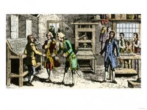 Бенджамин Франклин — биография. Путешествие Франклина в Филадельфию. Часть 3.