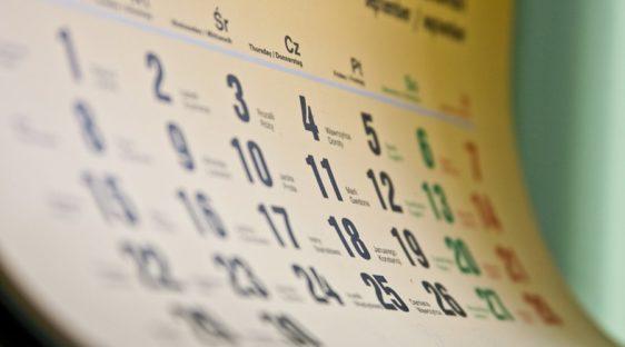 Важные события предстоящей недели + календарь отчётности