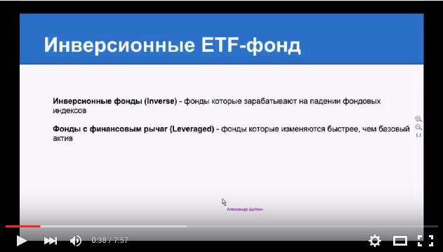 Что такое инверсионные ETF фонды