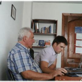 Дмитрий Цыглин на индивидуальных занятиях