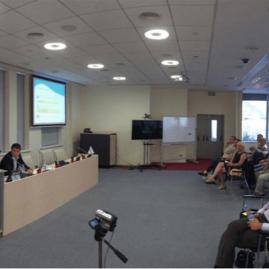 Александр и Дмитрий Цыглины проводят семинар на Московской бирже